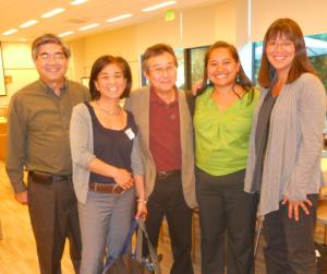Martha Masuoka (far right) at 2011 APACC event