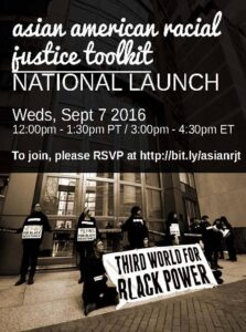 racial justice toolkit launch