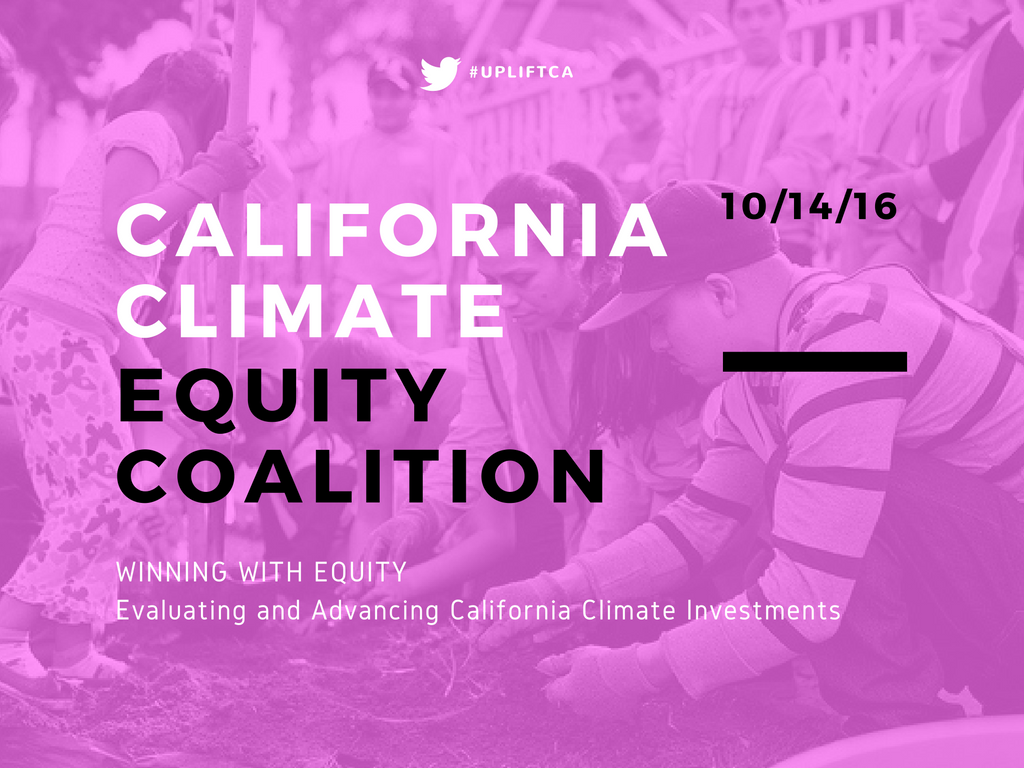 Winning with Equity: Evaluating & Advancing California Climate Investments