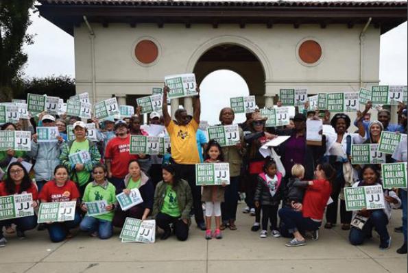 We won Measure JJ: Protect Oakland Renters!