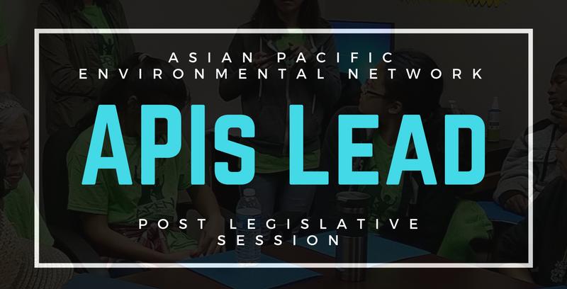 APIs Lead: Post Legislative Session Webinar