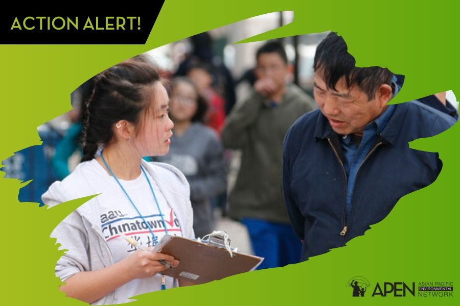 Canvass with APEN this Sunday in Chinatown