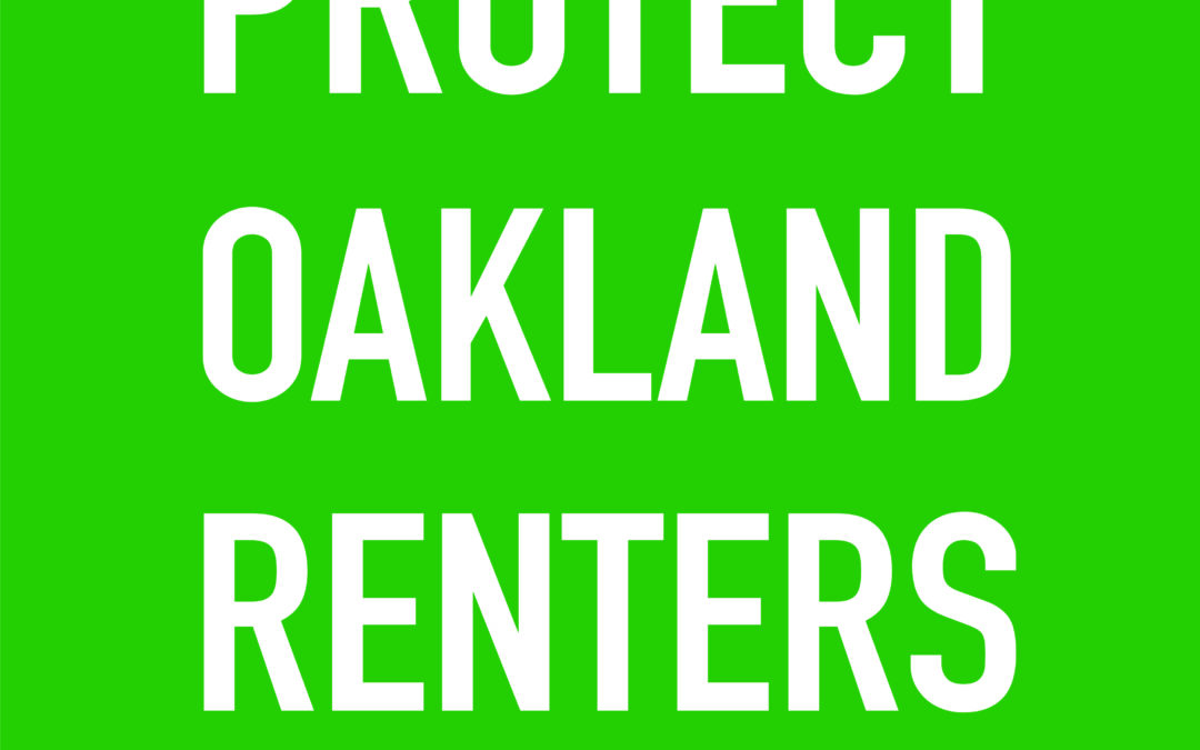 Oakland Evictions Moratorium FAQ