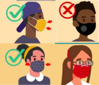 新冠疫情提醒,继续保护我们健康的社区