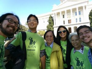 Li Hui Zhen lobby day team
