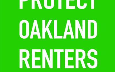 Oakland Evictions Moratorium FAQ