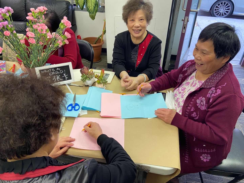 APEN members at an international women's day celebration. Photo credit Jing Jing He.