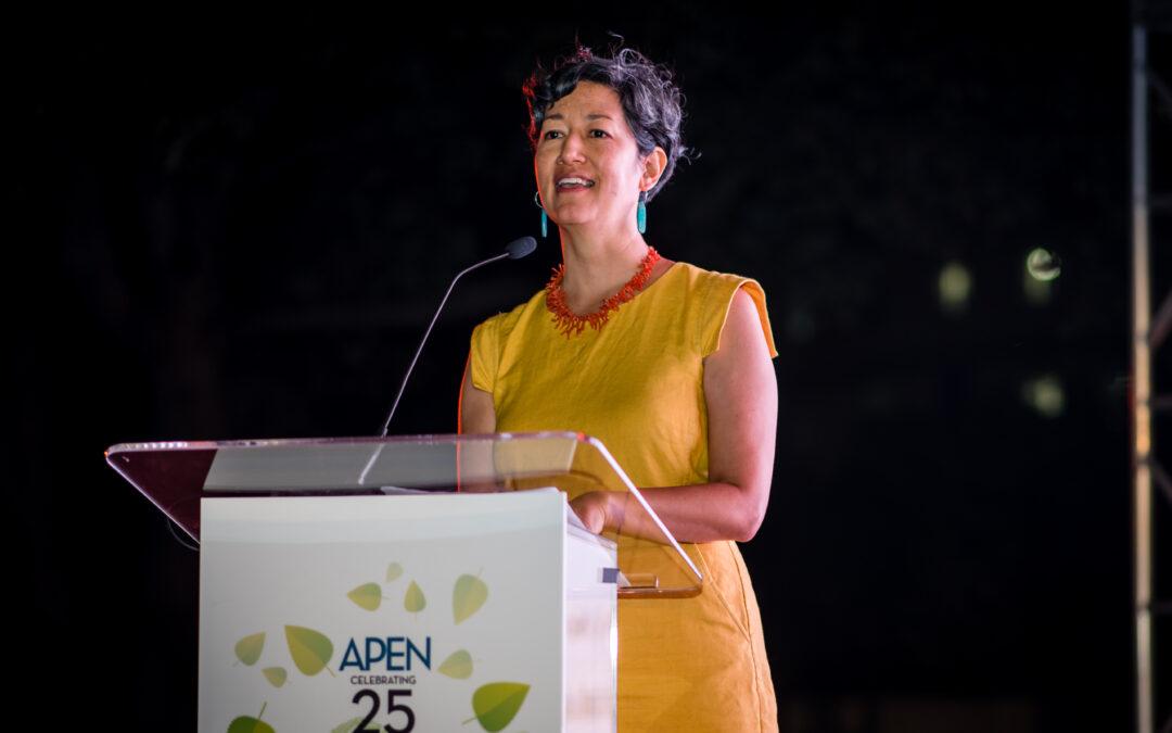 A Message from Miya Yoshitani, APEN Executive Director