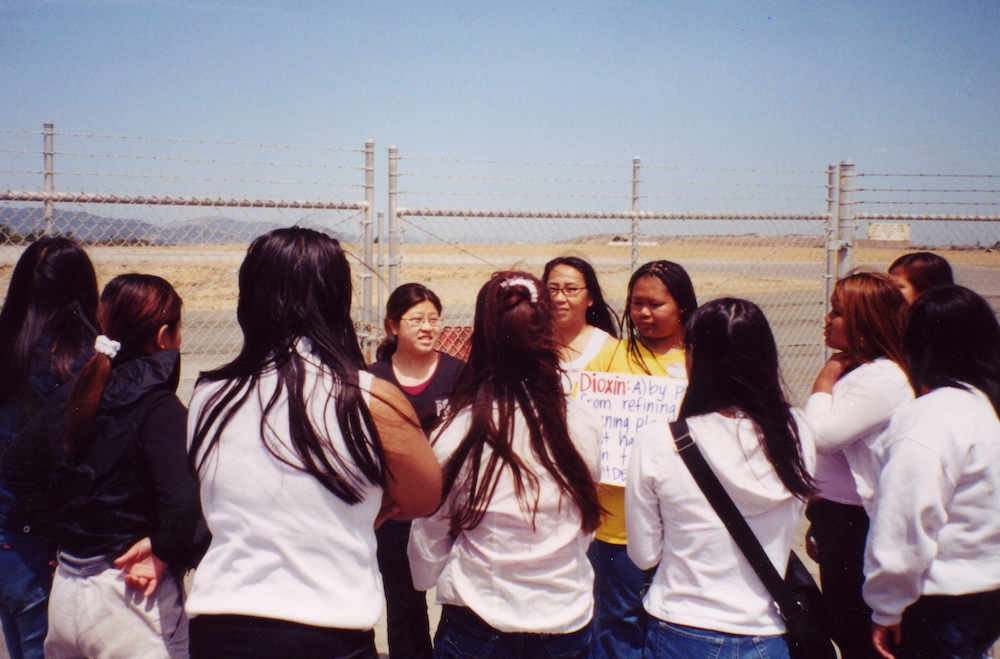 AYA (Asian Youth Advocates) members in Richmond in the 1990s